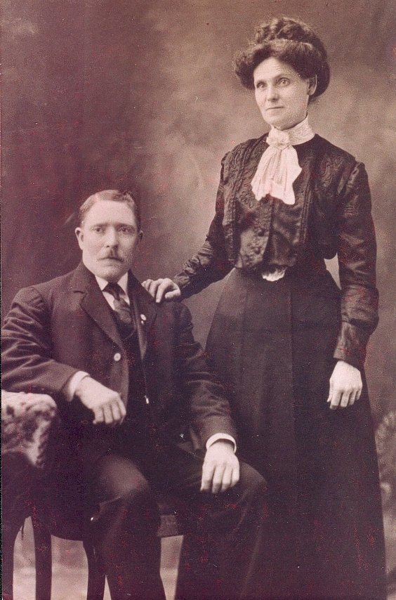 Photo of George William Cunneyworth and Susan Ann Eason