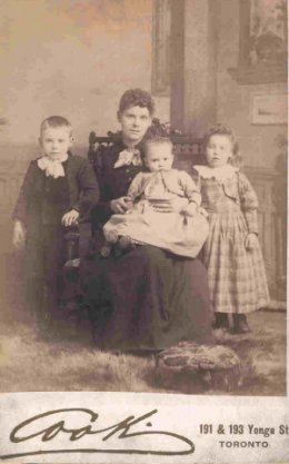Photo of Susan with children